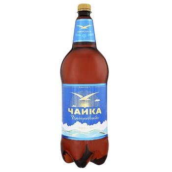Пиво Чайка Днепровская светлое 4.8% 2л