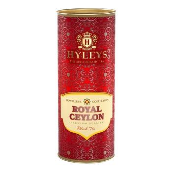 Чай чорний Hyleys цейлонський в тубусі 50г - купити, ціни на CітіМаркет - фото 1