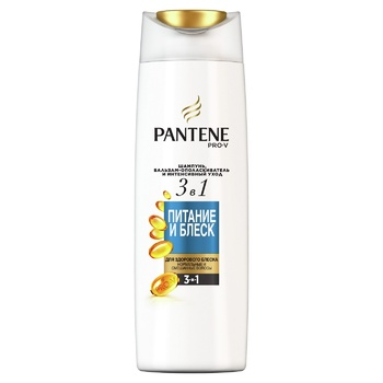 Pantene Pro-V 3in1 Nutrition And Shine Shampoo and Balsam-Conditioner 360ml