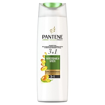 Pantene Pro-V 3in1 Nature Fusion Strengthening and Shine Shampoo and Balsam-Conditioner 360ml