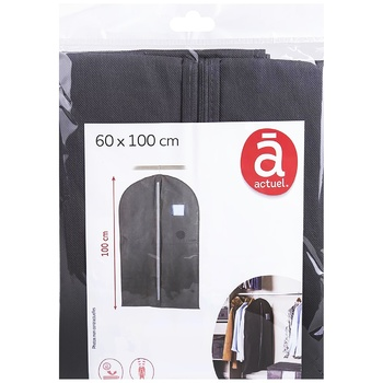 Чехол Actuel для одежды 60х90см - купить, цены на Ашан - фото 1