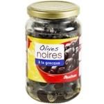 Auchan Olives Black Greek 235g