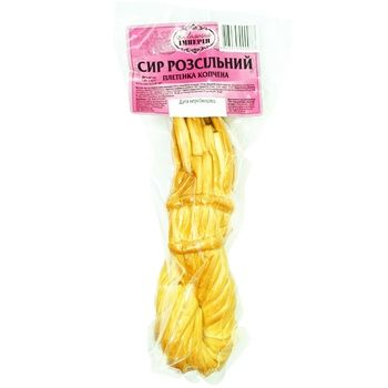 Сыр рассольных плетенка копченая - купить, цены на Ашан - фото 1