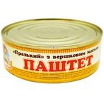Паштет Сто пудов Пражский со сливочным маслом 240г