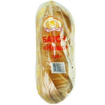 Батон Формула смаку Нива пшеничний 500г - купити, ціни на ЕКО Маркет - фото 1