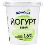 Molokiya White Thick Yogurt 1.6% 330g