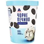 Морозиво Рудь Чорне печиво 500г