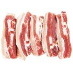 Pork Brisket Slicing