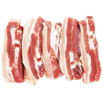 Грудинка свиная нарезка