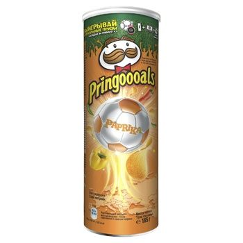 Чіпси Pringles Паприка 165г - купити, ціни на МегаМаркет - фото 2