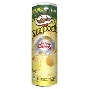 Чипсы Pringles Сыр 165г - купить, цены на Метро - фото 1
