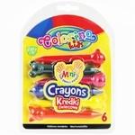 Мел Colorino Kids фигурный 6 цветов