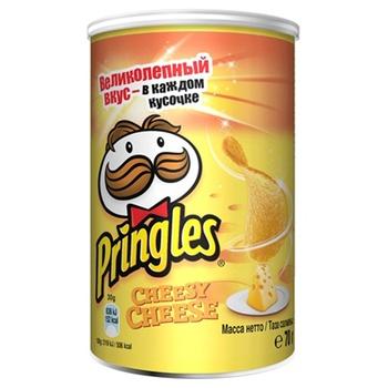 Чіпси Pringles картопляні зі смаком сиру 70г - купити, ціни на CітіМаркет - фото 1