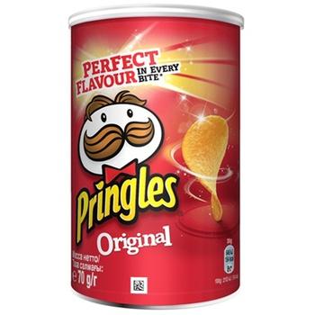 Pringles Chips Original potato 70g - buy, prices for CityMarket - photo 1