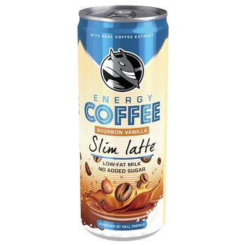 HELL Slim Latte Cold Coffee 250ml - buy, prices for MegaMarket - image 1