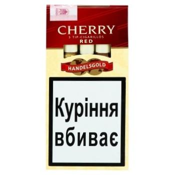 Сигари Cherry Tip Cigarilos - купить, цены на Фуршет - фото 1