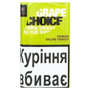 Табак Mac Baren Grape choice 40г - купить, цены на СитиМаркет - фото 1
