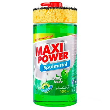 Maxi Power Lime Dishwashing Liquid 1l