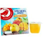 Пюре Ашан фруктове яблуко-манго без цукру 100г - купити, ціни на Ашан - фото 1