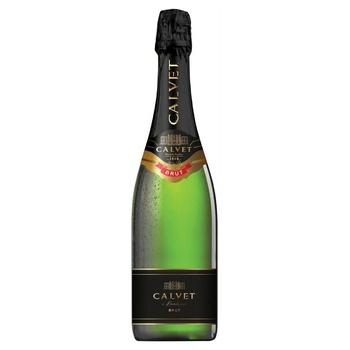 Вино ігристе Calvet Cremant de Bordeaux Brut біле сухе 10,5% 0,75л - купити, ціни на CітіМаркет - фото 1