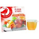 Пюре Ашан фруктовое яблоко-абрикос 100г