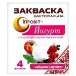 Закваска бактериальная Ипровит Йогурт с ацидофильной палочкой 4шт*0,5г