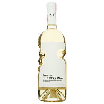 Вино Bolgrad Chardonnay біле сухе 0,75л - купити, ціни на CітіМаркет - фото 1