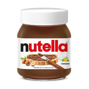 Ореховая паста Nutella с какао 350г - купить, цены на МегаМаркет - фото 1
