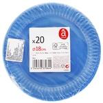 Actuel Blue Dessert Plate 20pc*16cm