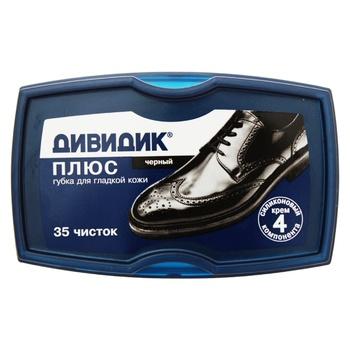 Dividik Plus Sponge for Shoes Black - buy, prices for Tavria V - image 1