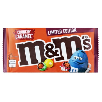 M&M's Chocolate Dragees with Crispy Caramel 36g - buy, prices for MegaMarket - image 1