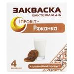 Закваска бактериальная Ипровит Ряженка-Ипровит 4х0.5г