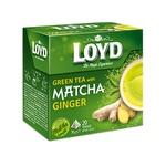 Loyd With Matcha-Ginger Puree Green Tea 20pcs 1,5g