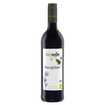 BioRebe Dornfelder red semi-dry wine 11,5% 0,75l