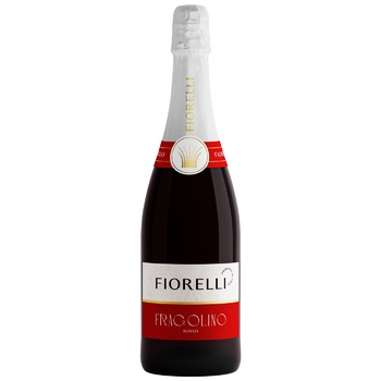 Fiorelli Fragolino Rosso drink flavored on the basis of wine 7% 0,75l - buy, prices for Furshet - image 1