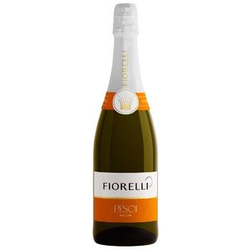 Напиток ароматизированный Fiorelli Pesca на основе вина 7% 0,75 - купить, цены на Novus - фото 1
