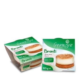 Десерт Creamoire Bronti 105г - купить, цены на Ашан - фото 1