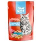 Корм Пан Кот Качка в желе для котів 100г