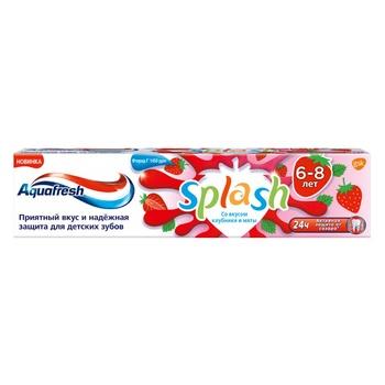 Зубна паста Aquafresh Splash для дітей 50мл - купити, ціни на Ашан - фото 1