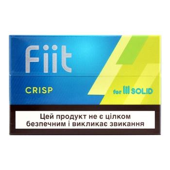 Стики табачные Fiit Crisp 20 стиков 5,3г - купить, цены на СитиМаркет - фото 1