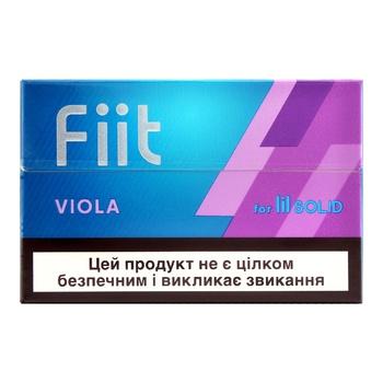 Стики табачные Fiit Viola 20 стиков 5,3г - купить, цены на СитиМаркет - фото 1