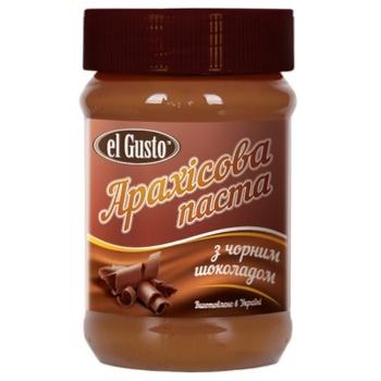 Арахісова паста El Gusto з чорним шоколадом 270г - купити, ціни на Novus - фото 1