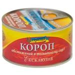 Карп Морской Пролив Эксклюзив обжаренный в томатном соусе 240г - купить, цены на Novus - фото 1