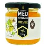 Мед золотарниковый натуральный 250г - купить, цены на Ашан - фото 1