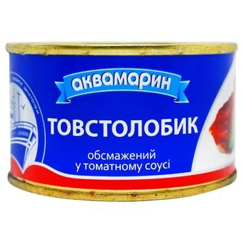 Толстолобик Аквамарин в томатном соусе 230г - купить, цены на Ашан - фото 4