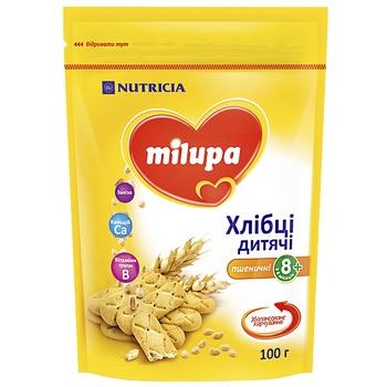 Хлебцы Milupa Nutricia пшеничные детские 100г