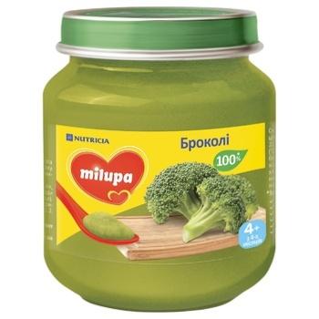 Пюре овощное Milupa Брокколи 125г