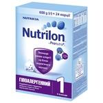 Смесь Nutricia Nutrilon Гипоаллергенный 1 600г