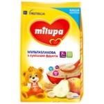 Каша молочная Milupa сухая для детей от 7-ми месяцев мультизлаковая со смесью фруктов 210г