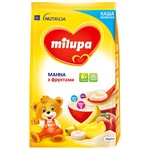 Milupa for children from 6 months with fruits milk semolina porridge 210g